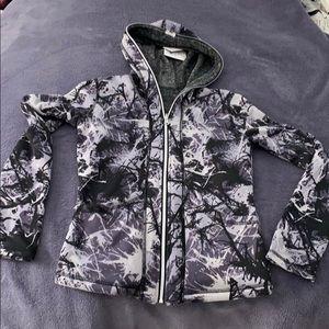 Tops - Purple reversible hoodie